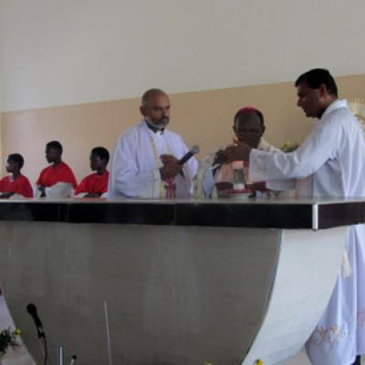 Osia Church Blessing Uganda